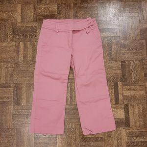 Pink Casual Pants